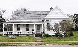 M.L.B. Sturkey House - M.L.B. Sturkey House, March 2012
