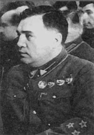 Stalinist repressions in Mongolia - Deputy NKVD Chief MP Frinovsky