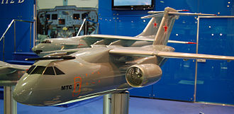 Russian Air Force - Image: MTS Il 214 maks 2009
