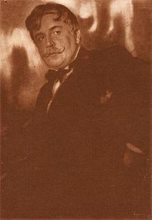 Портрет А. Головина. 1916. Фото М. А. Шерлинга. СПб.