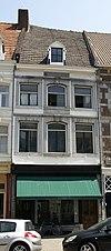 foto van Huis met lijstgevel.