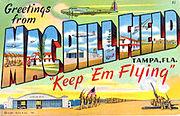 MacDill Field Postcard-2