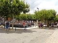 Macastre. Plaza de los Árboles. Vaquillas 1.jpg