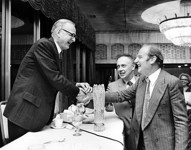 Maclyn McCarty (geneticist), Francis Crick, and James Watson