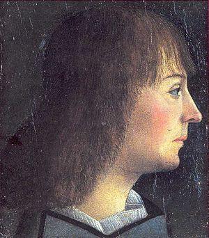 Anne d'Alençon - Portrait of Anne's husband, William IX of Montferrat, by Macrino d'Alba