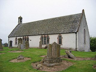 Madderty village in Perth and Kinross, Scotland, UK