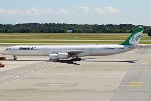 Mahan Air - Mahan Air Airbus A340-600