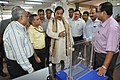 Mahesh Sharma Watching Exhibit Chaos - CRTL Workshop - NCSM - Kolkata 2017-07-11 3442.JPG