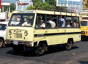 Jeep Forward Control - Mahindra FJ-470 or 460 with a mini bus body