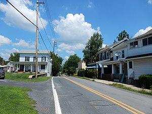 Landingville, Pennsylvania - Image: Main St, Landingville PA 01