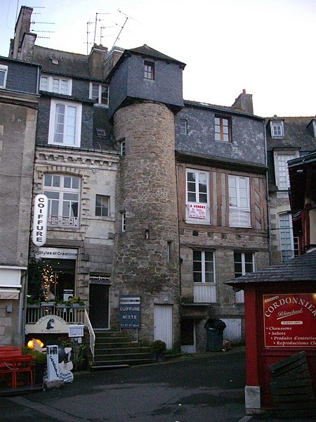 Credey house, on the Lices square in Vannes (Morbihan, France)