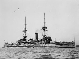 HMS <i>Illustrious</i> (1896) Majestic-class pre-dreadnought battleship