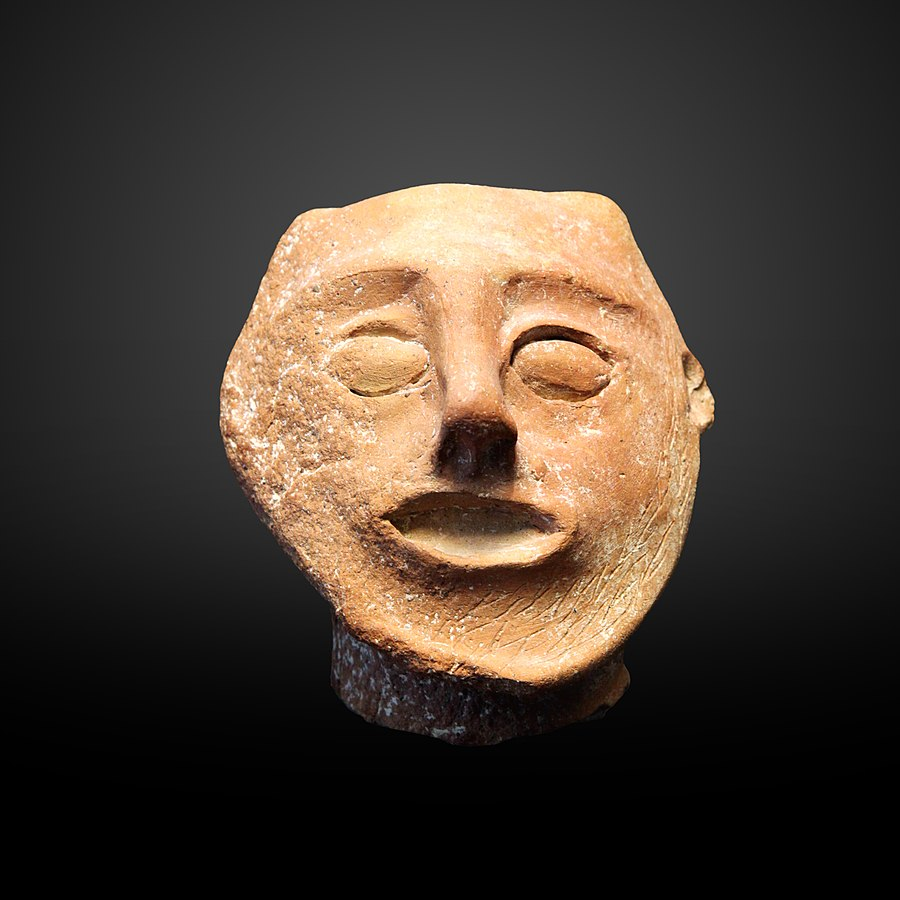 Male head-AM 1144
