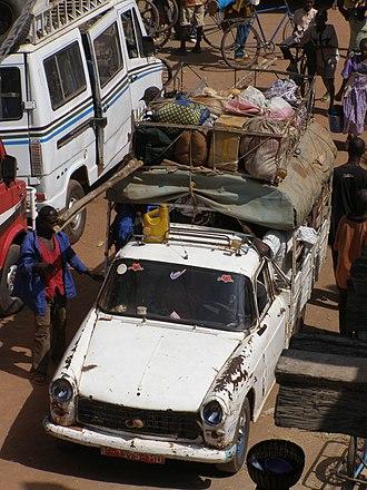Automotive industry in Nigeria - MaliPeugeot1-pickup truck