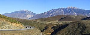 Kukës: Mali i Gjallices nga Kalimashi