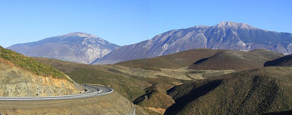 Mali i Gjallices nga Kalimashi