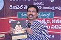 Mamidi Harikrishna releasing Culture department publications in Telangana Digital Media Conference 01.jpg