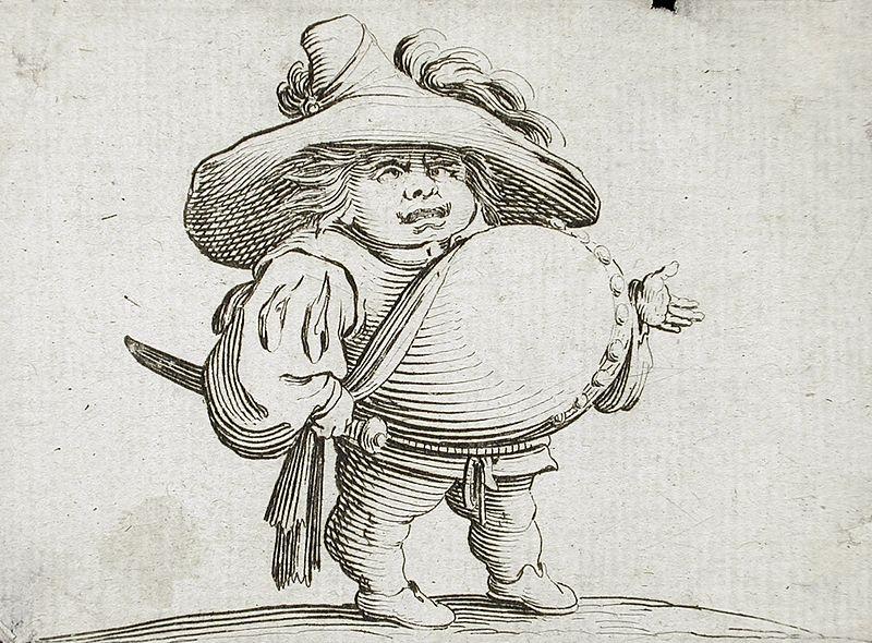 Человек с Большой Живот украшен ряд кнопок LACMA M.83.318.15.jpg
