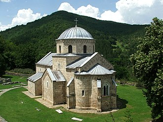 Helen of Anjou - Gradac Monastery was founded by Helen of Anjou