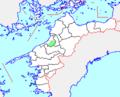 Map.Nakayama-Town.Ehime.PNG