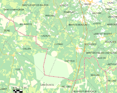 Map commune FR insee code 33255.png