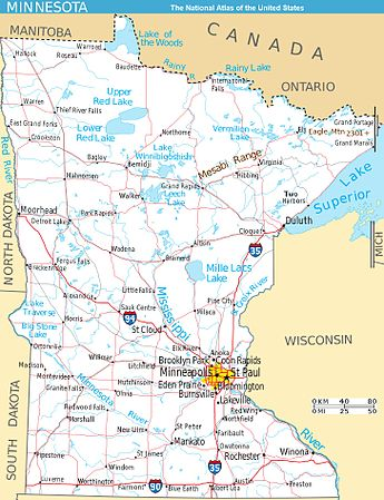 How Far Is Lake Forest Minnesota From Twin Cities Minnesota