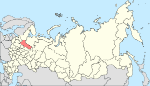 Map of Russia - Vologda Oblast (2008-03).svg