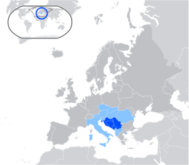 Map of Serbo-Croatian language.png