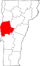 Map of Vermont highlighting Addison County.svg