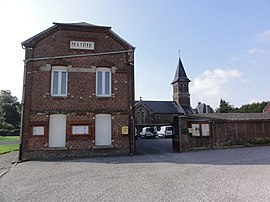 The town hall of Marcy