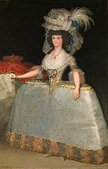 Portrait de Marie-Louise de Parme