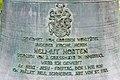 Maria Wörth Friedhof Inschrift auf Glocke gestiftet von Helmut Horten 05122018 6403.jpg