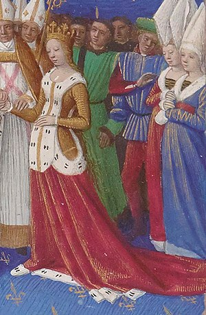 Marie of Luxembourg, Queen of France - Image: Marieluxembourgfrenc hqueen