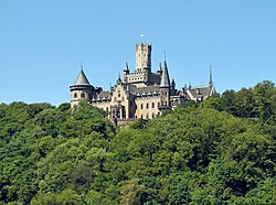 Marienburg Castle in summer.jpg