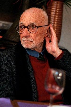 Italiano: Mario Monicelli, regista.