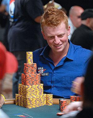 Mark Vos - Mark Vos at the 2008 World Series of Poker