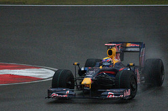 2009 Chinese Grand Prix - Mark Webber completed Red Bull's perfect race by finishing second.