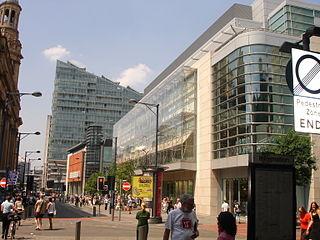 Market Street, Manchester retail street in Manchester, England