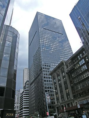 1166 Avenue of the Americas - Image: Marsh & Mc Lennan Headquarters at 1166 Avenue of the Americas