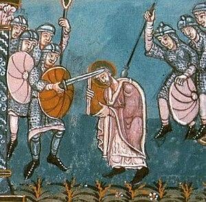 Frisian–Frankish wars - The attack on Boniface