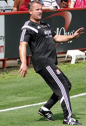 Martyn Margetson - Margetson with West Ham United in July 2014