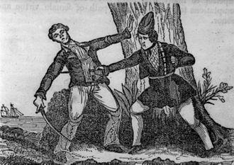 Mary Read - Mary Read kills a pirate