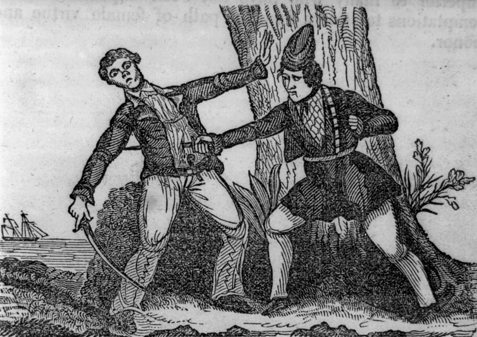 Mary Read killing her antagonist cph.3a00980