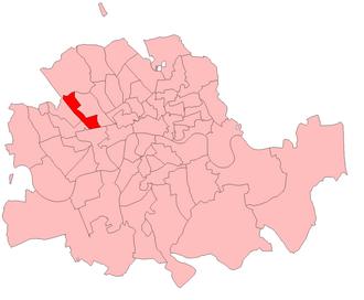 Marylebone West (UK Parliament constituency) - Image: Marylebone West 1885