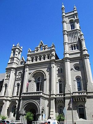Masonic Temple (Philadelphia, Pennsylvania) - Image: Masonic Temple Philadelphia front facade