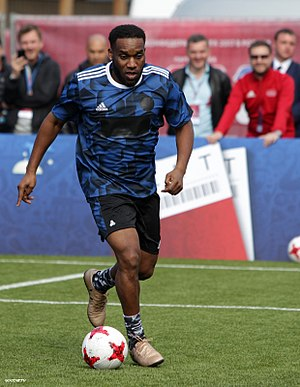 Jay-Jay Okocha - Okocha playing in a 2017 charity match