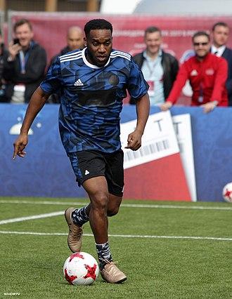 Jay-Jay Okocha - Okocha playing in a 2017 charity match