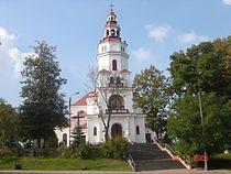 Matki Boskiej Częstochowskiej church in Mońki.JPG