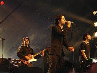 Maxïmo Park - Image: Maxïmo Park Radio 1's One Big Weekend 2005