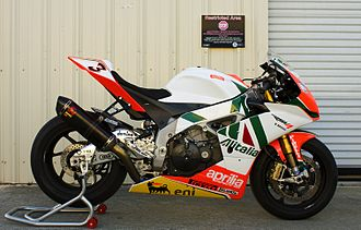 Aprilia - Aprilia RSV4 Factory race bike.